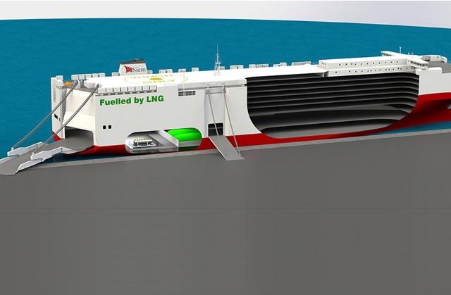 Volkswagen LNG schip
